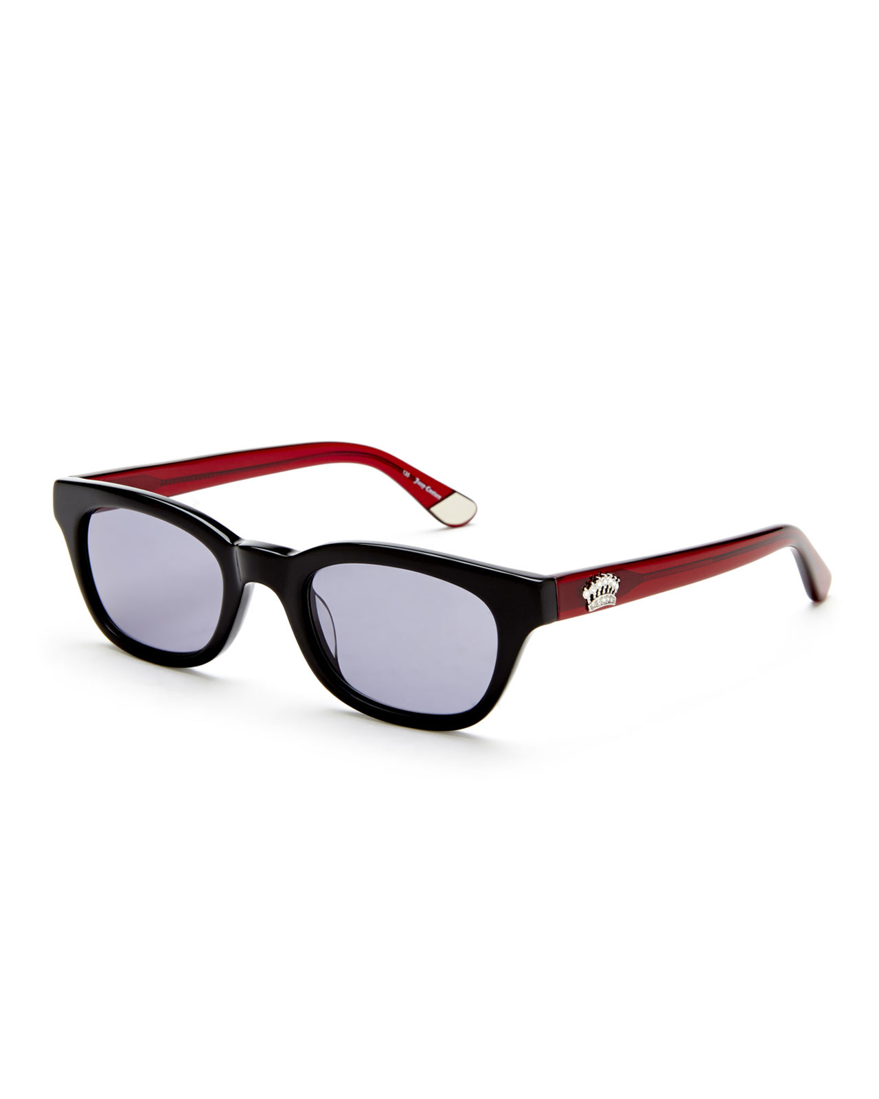 Juicy couture 534/S Black & Red Aviator Sunglasses in Red ...