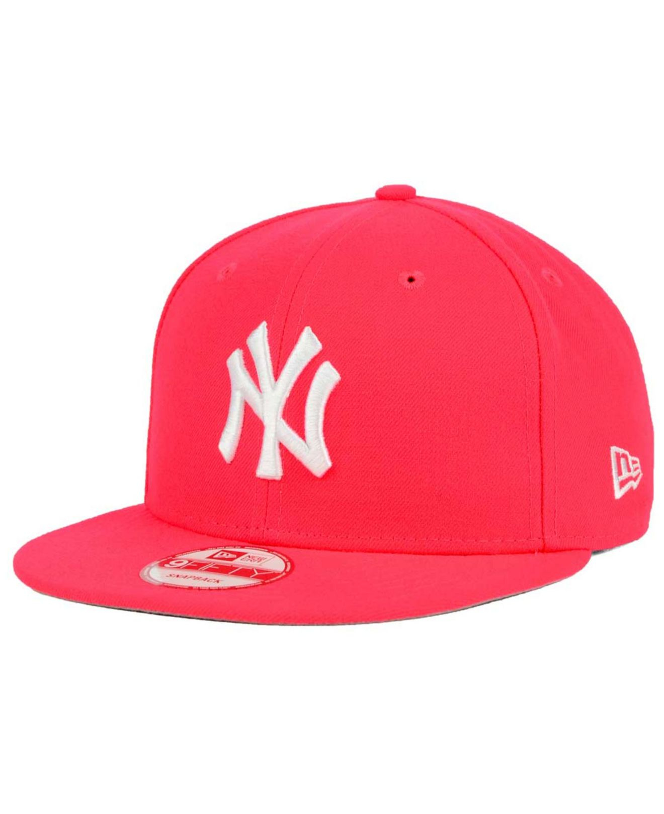 brand new 8cdea 55635 ... where can i buy lyst ktz new york yankees c dub 9fifty snapback cap in  pink