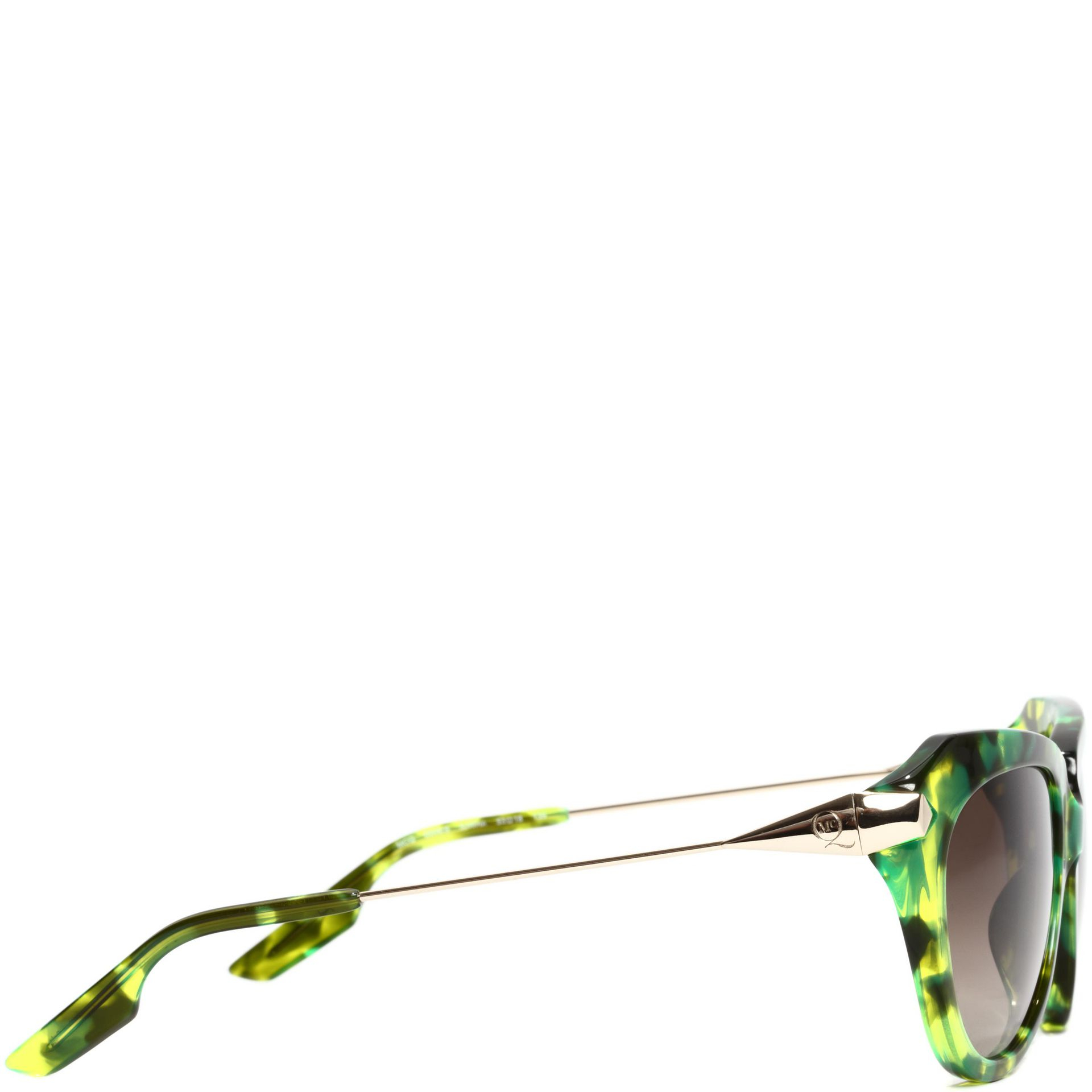 5fe62d0cb93af McQ Stealth Havana Sunglasses in Green - Lyst