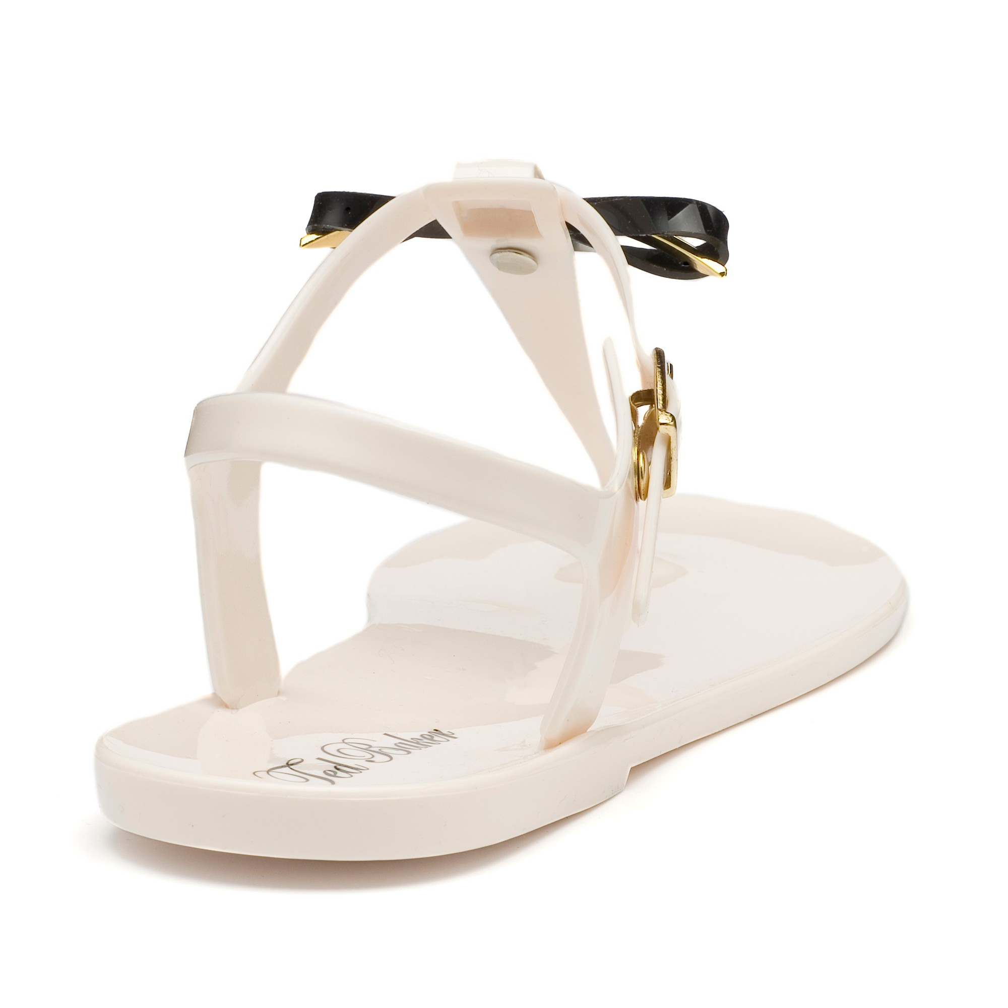 80d85be8fadca3 Ted Baker Verona Jelly T-bar Sandals in Natural - Lyst