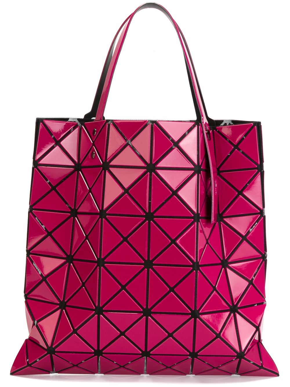 lyst bao bao issey miyake 39 lucent 2 39 tote in pink. Black Bedroom Furniture Sets. Home Design Ideas