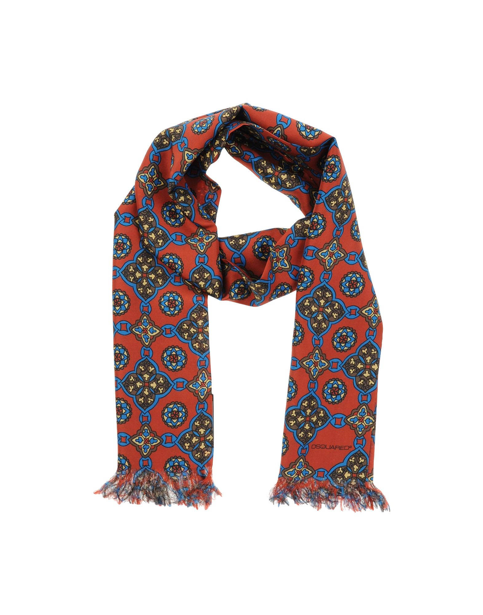 Dsquared² Oblong Scarf in Red