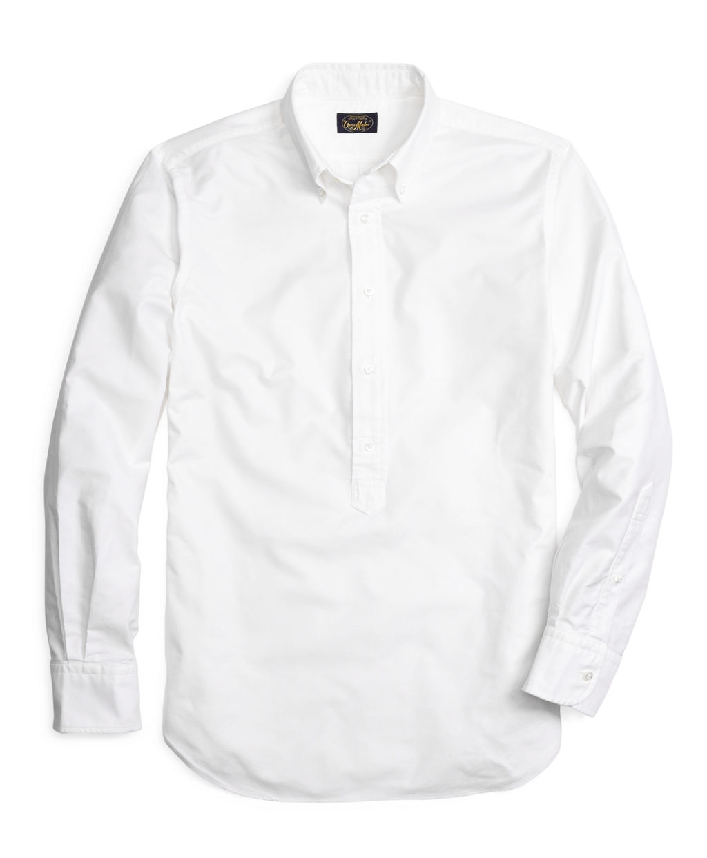 Lyst brooks brothers own make white oxford sport shirt for Brooks brothers sports shirts