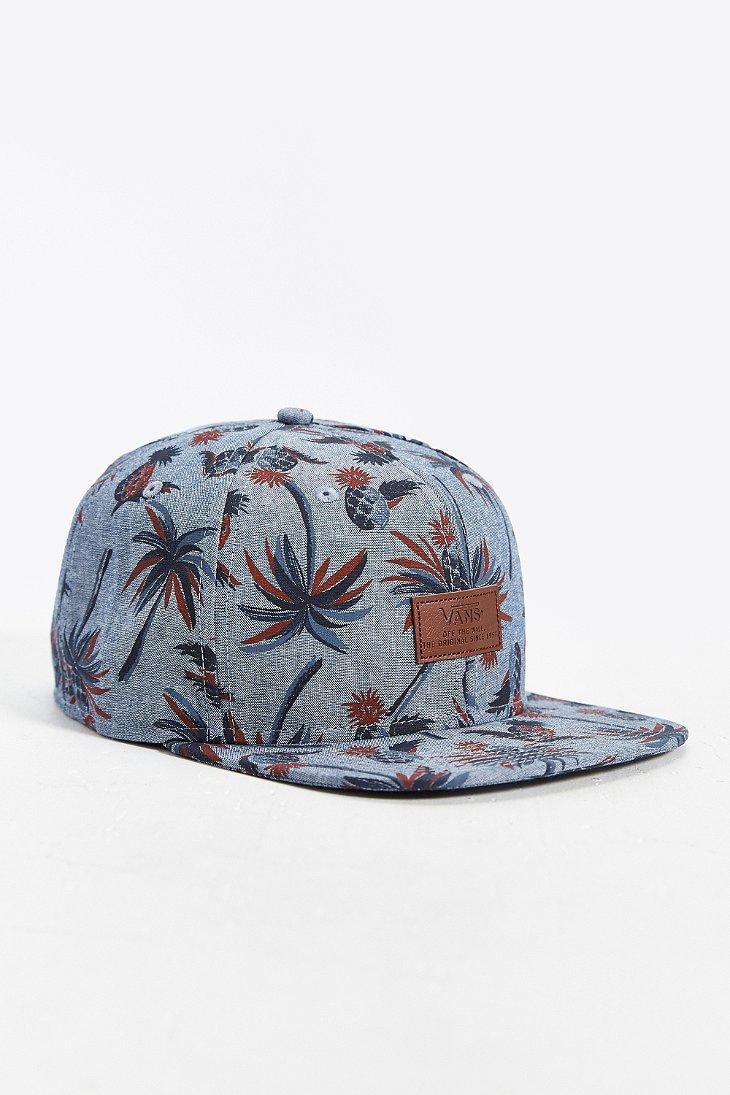 c37fe8ff239b2 Vans All Over It Snapback Hat in Gray for Men - Lyst