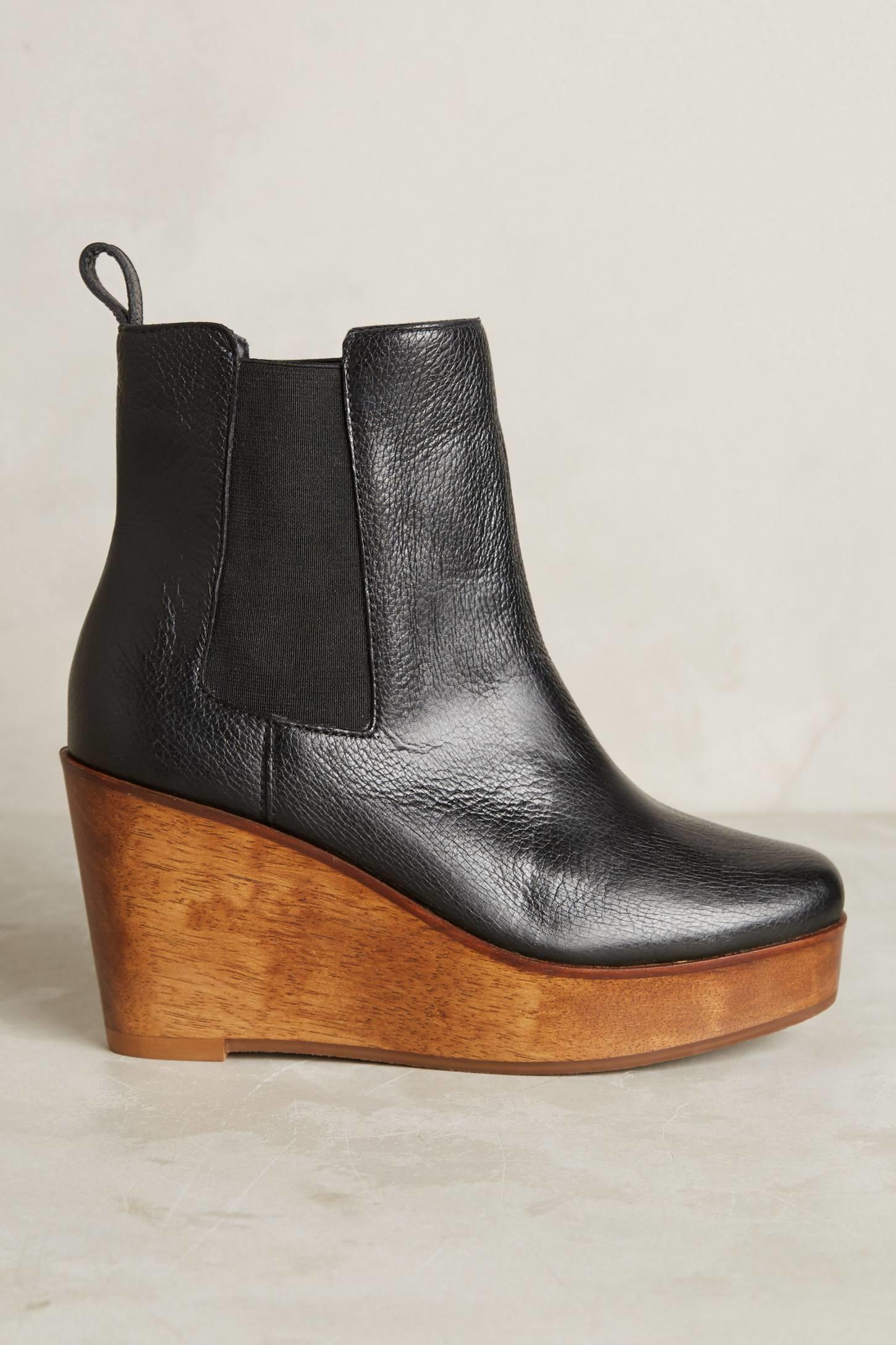 Lyst - Kelsi Dagger Brooklyn Ubel Chelsea Boots in Black