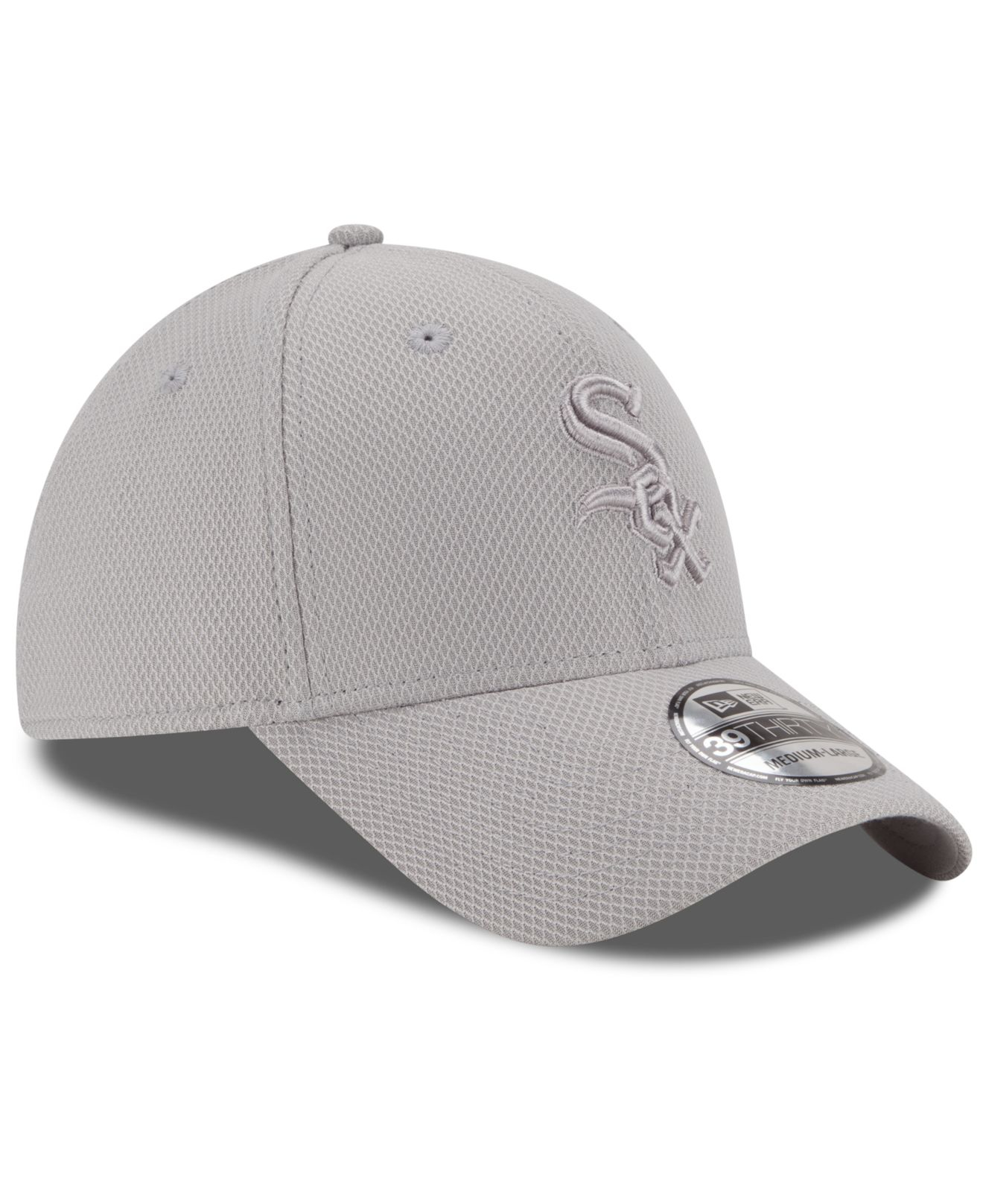 wholesale dealer 492f9 a8eb9 ... spain lyst ktz chicago white sox tone tech 39thirty cap in gray for men  35359 72dd6