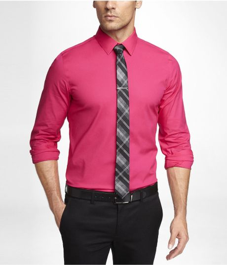 Mens Hot Pink Shirt | Is Shirt