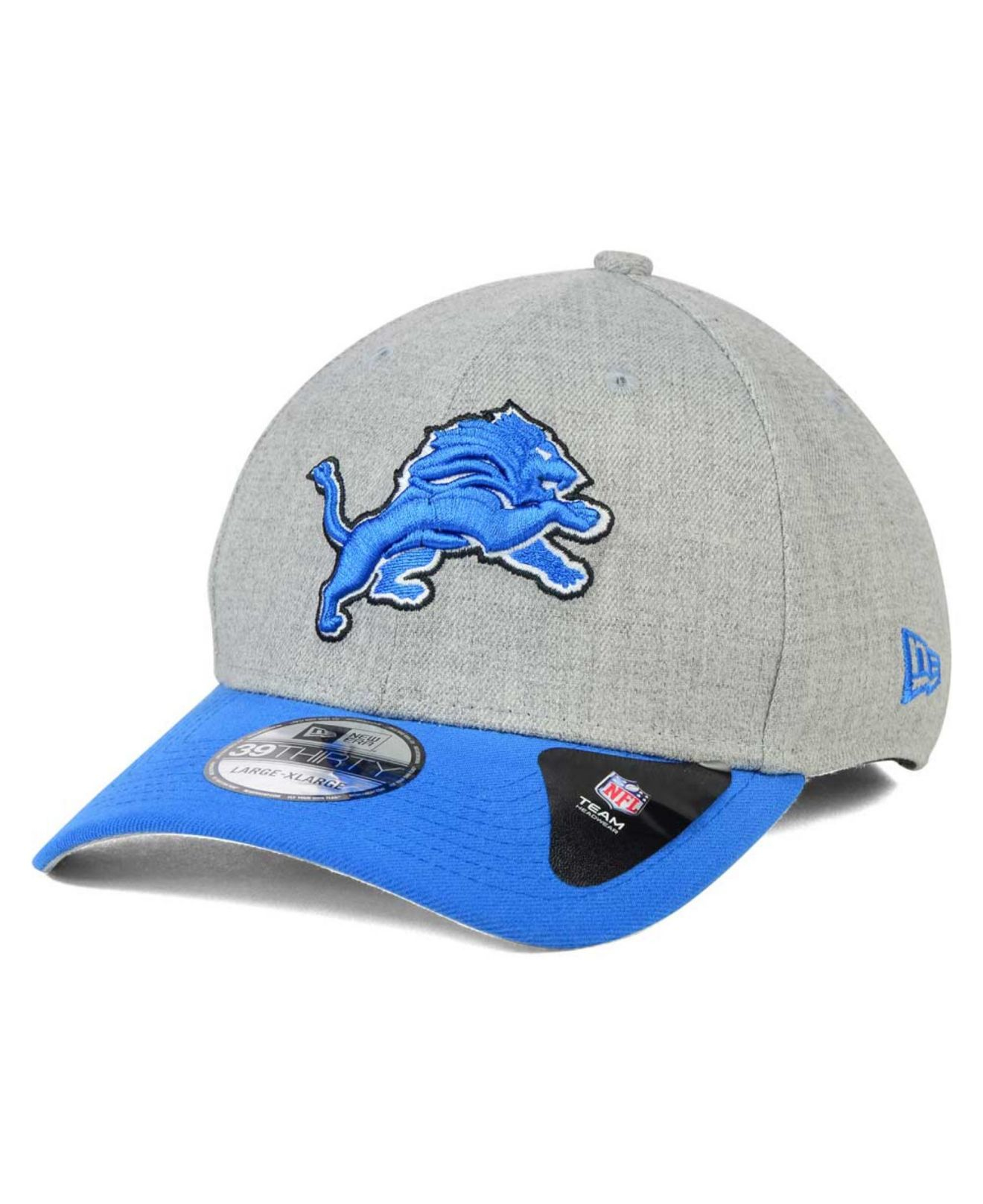 save off c948a dac60 ... my 1st 9fifty adjustable hat 51d1c 88dd3  official store lyst ktz  detroit lions change up heather 39thirty cap in blue for men 6adf2