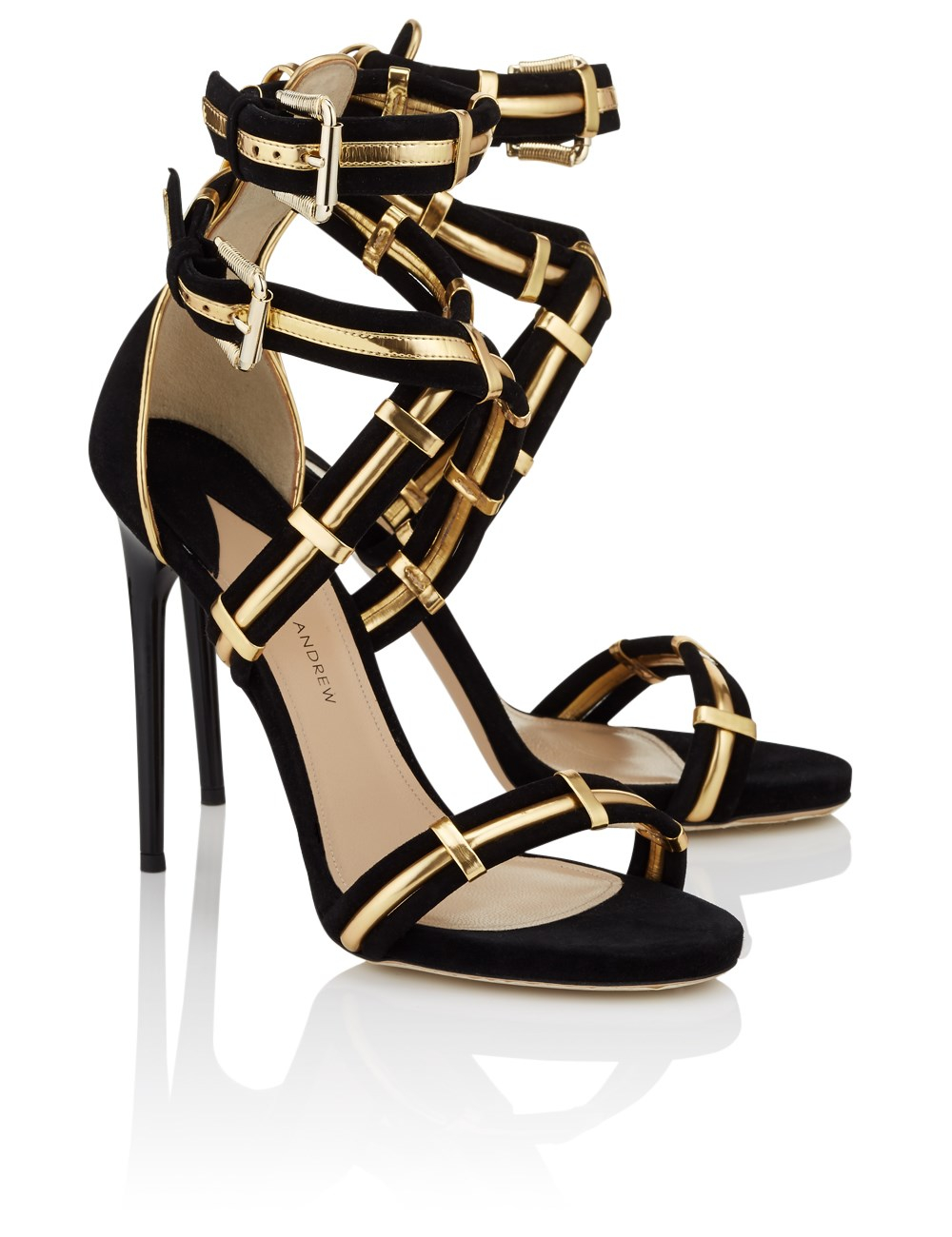 Black and Gold Heels Affordable Black & Gold Heels in Kitten, Mid, Low, High Heel, Platform, Peep Toe & More Styles Rock out with cheap black and gold heels to un-cage your inner rocker chick, and look for many other discount women's shoes at ShoeDazzle for footwear that will release all of your fashion personalities.
