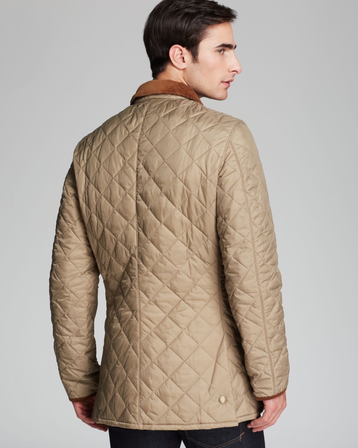 Lyst Barbour Pantone Collection Chip Diamond Quilted Jacket In