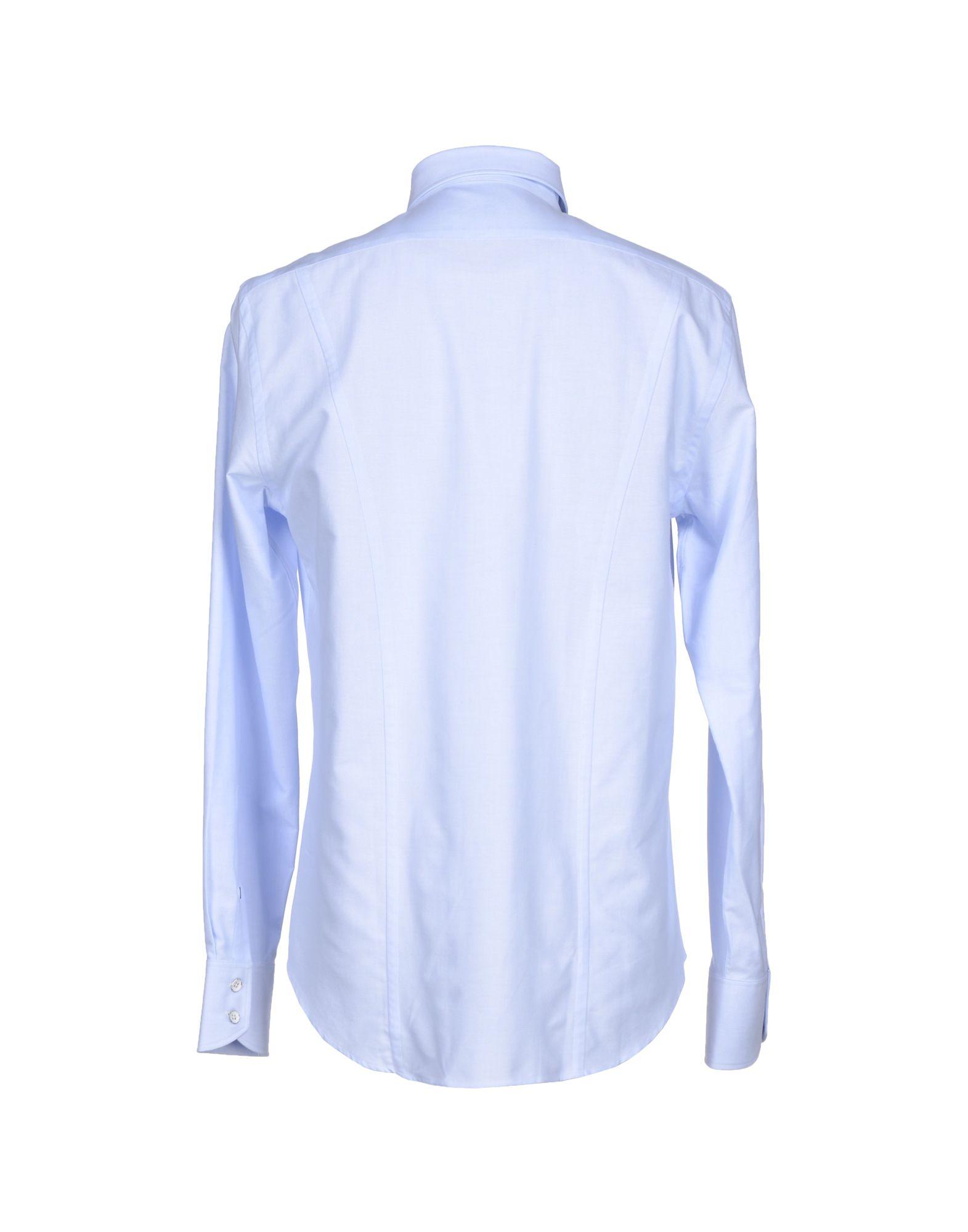 Rag bone shirt in blue for men lyst for Rag bone shirt