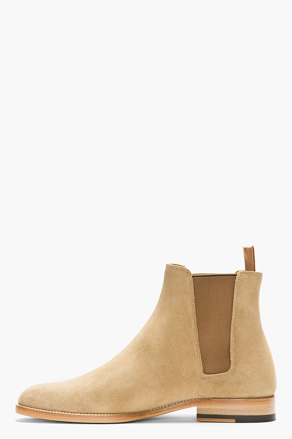 laurent suede chelsea boots in for