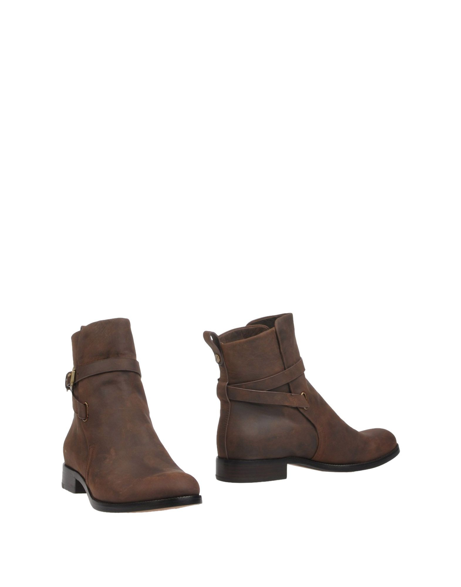 kors by michael kors ankle boots in brown lyst