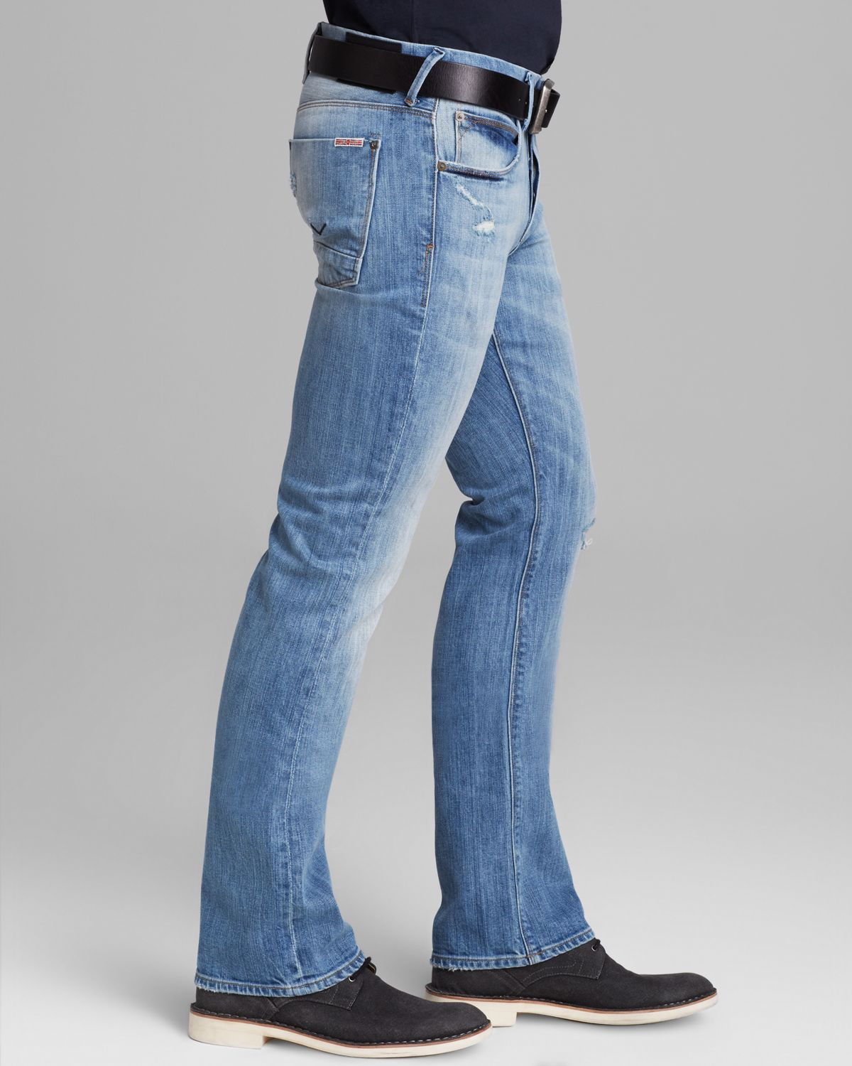 Lyst Hudson Jeans Jeans Clifton Bootcut Fit In Burning