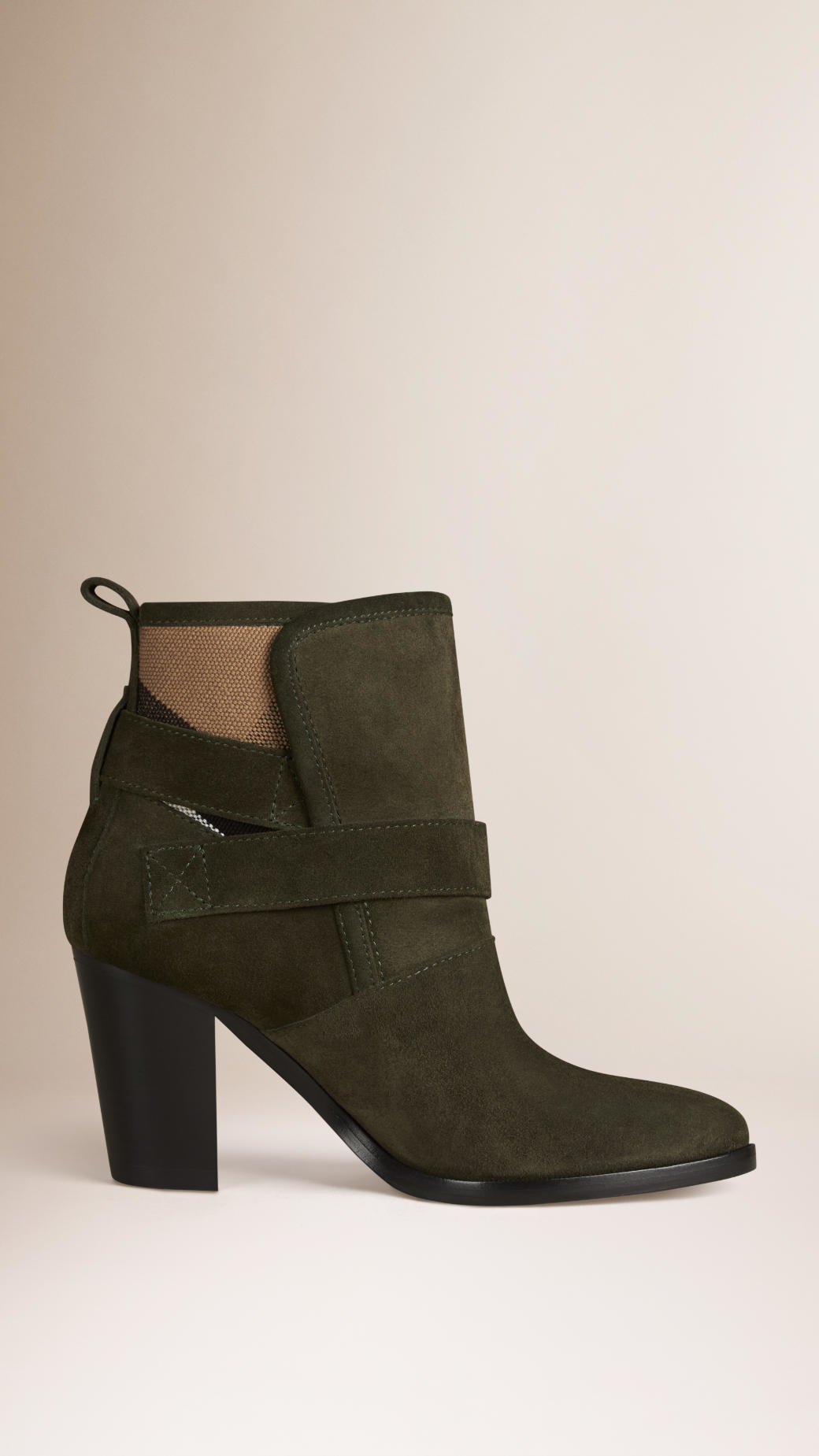 Burberry Suede Ankle Boots extremely sale online EFsz9OLsJ