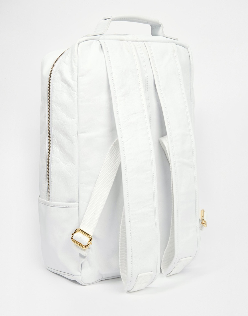 Fresh Mens White Backpack | Cg Backpacks FT47