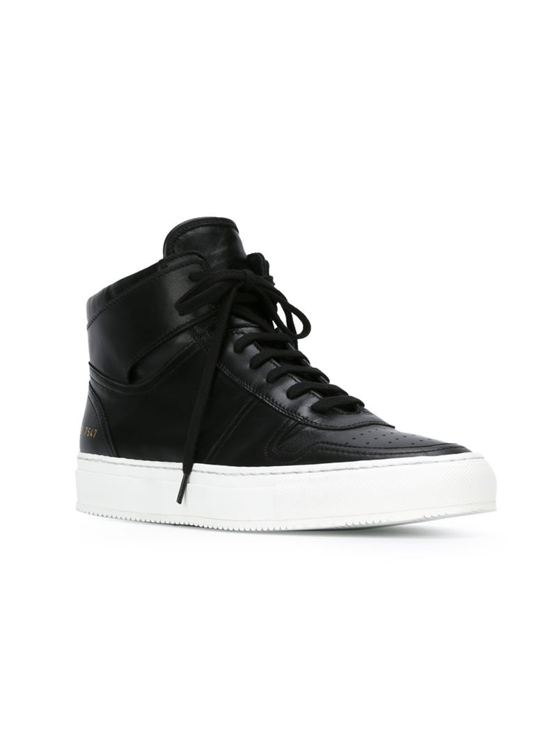 Common Projects lace-up hi-tops latest collections online Rfze0zSED