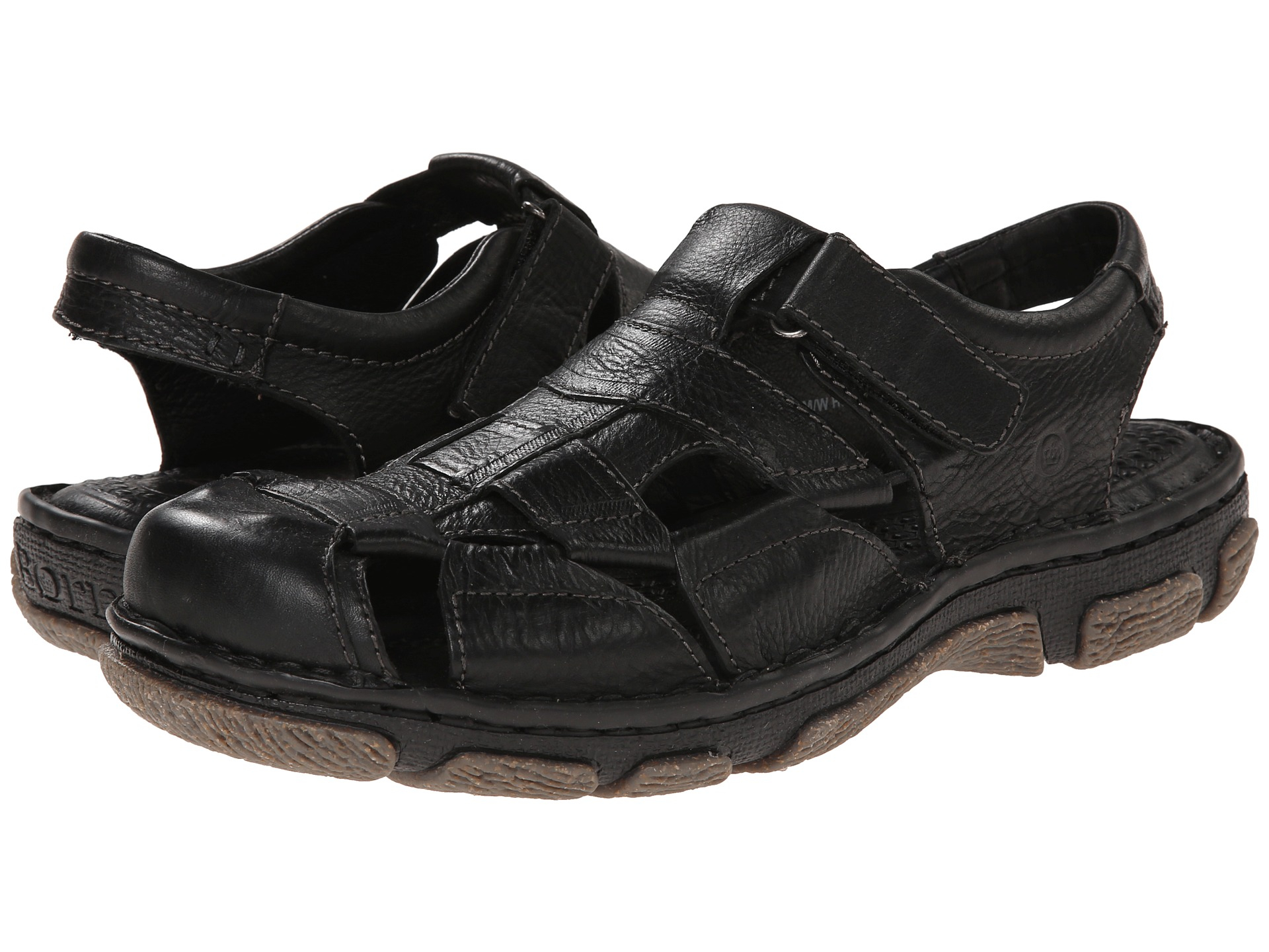 Born Gratia Fisherman Sandals In Black For Men Lyst