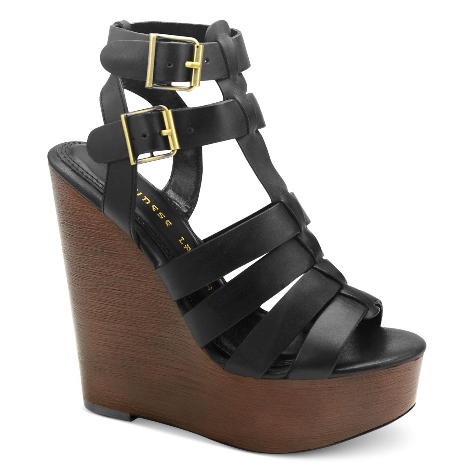 Lyst Chinese Laundry Jump Drive Platform Wedge Sandals