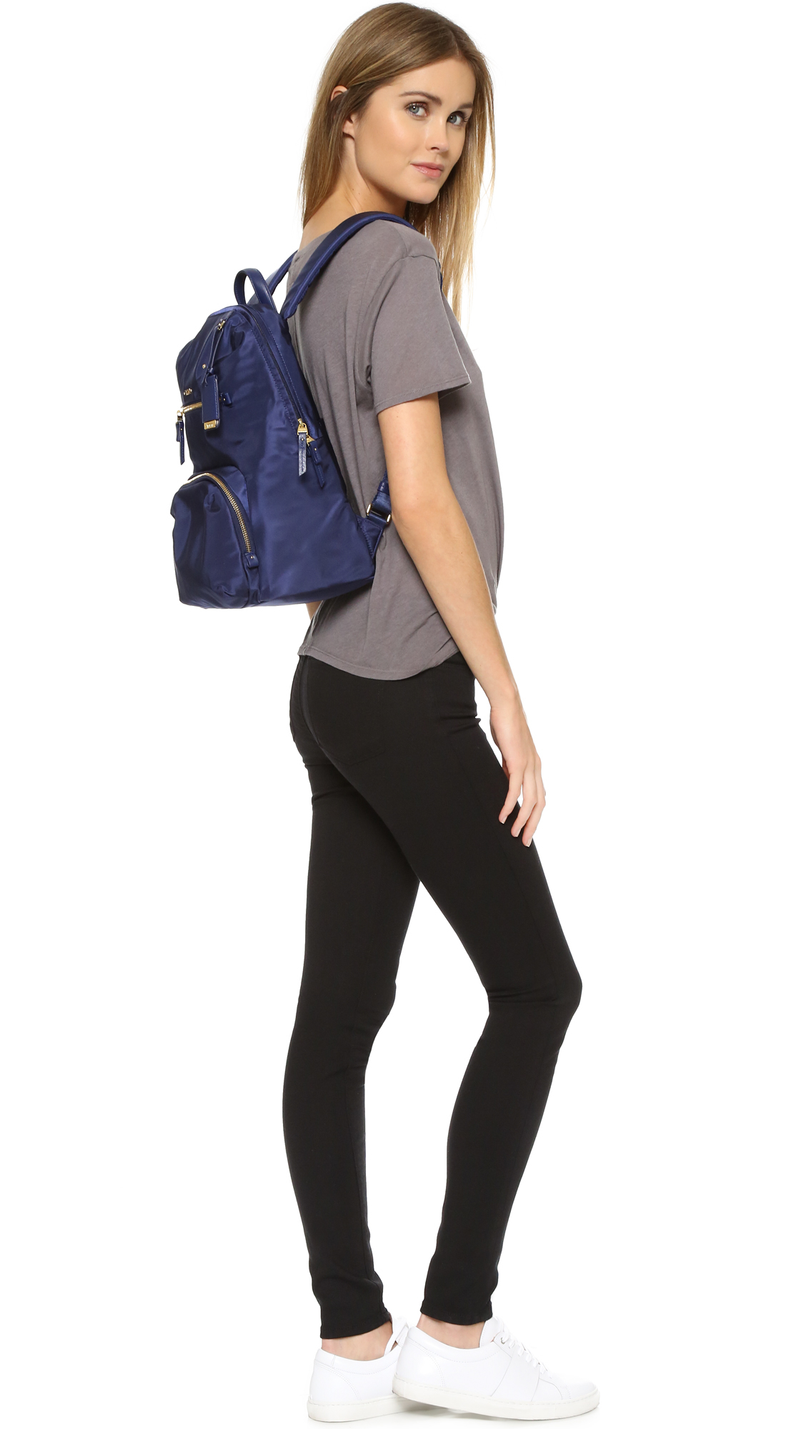 Lyst Tumi Halle Backpack In Blue