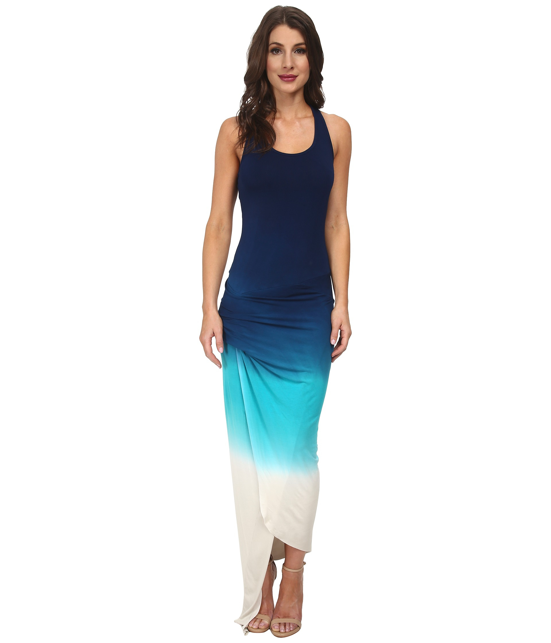 e1d57cd2f83 Lyst - Young Fabulous   Broke Sassy Maxi in Blue