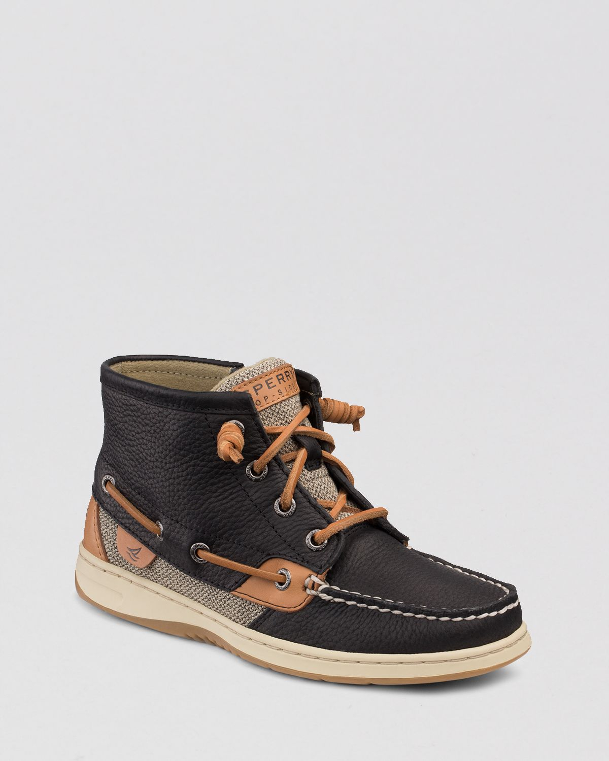 Sperry Top-sider Boat Shoe Booties - Marella in Black