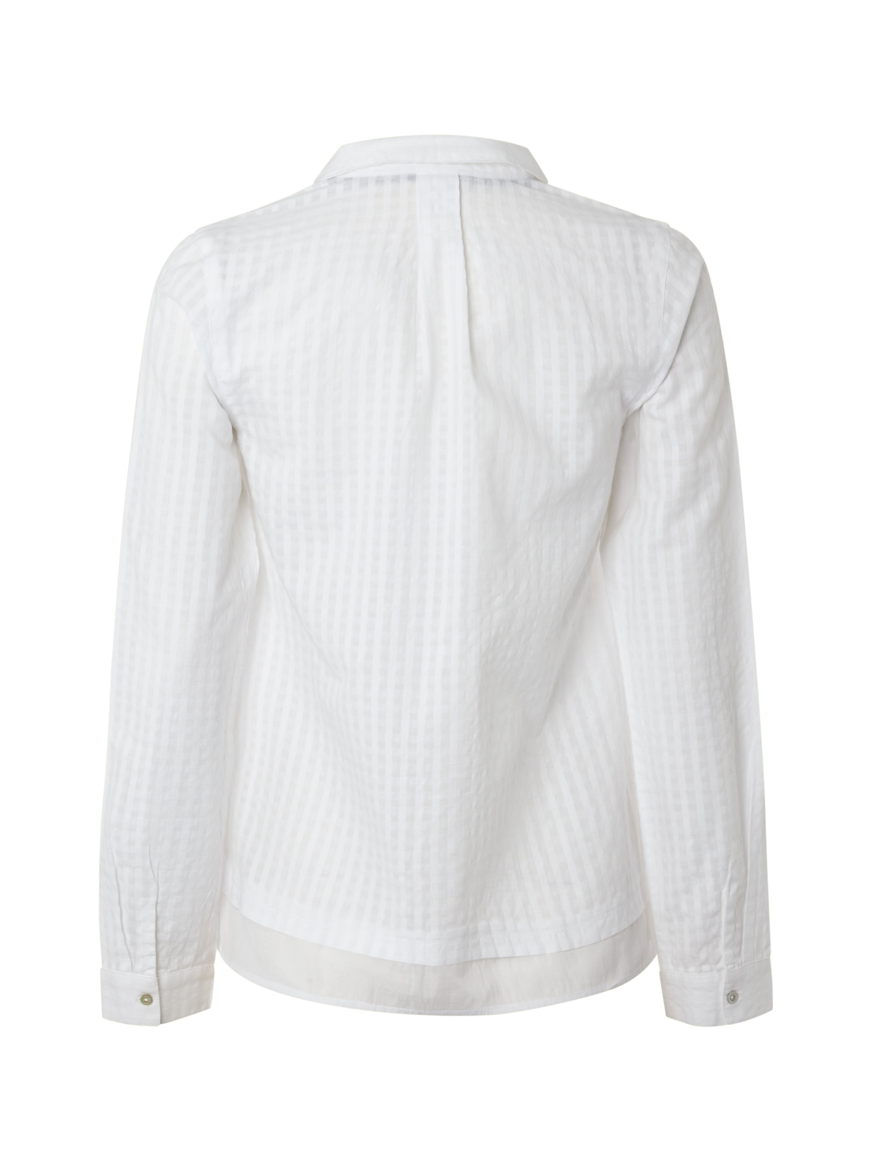 white stuff simplicity shirt in white lyst