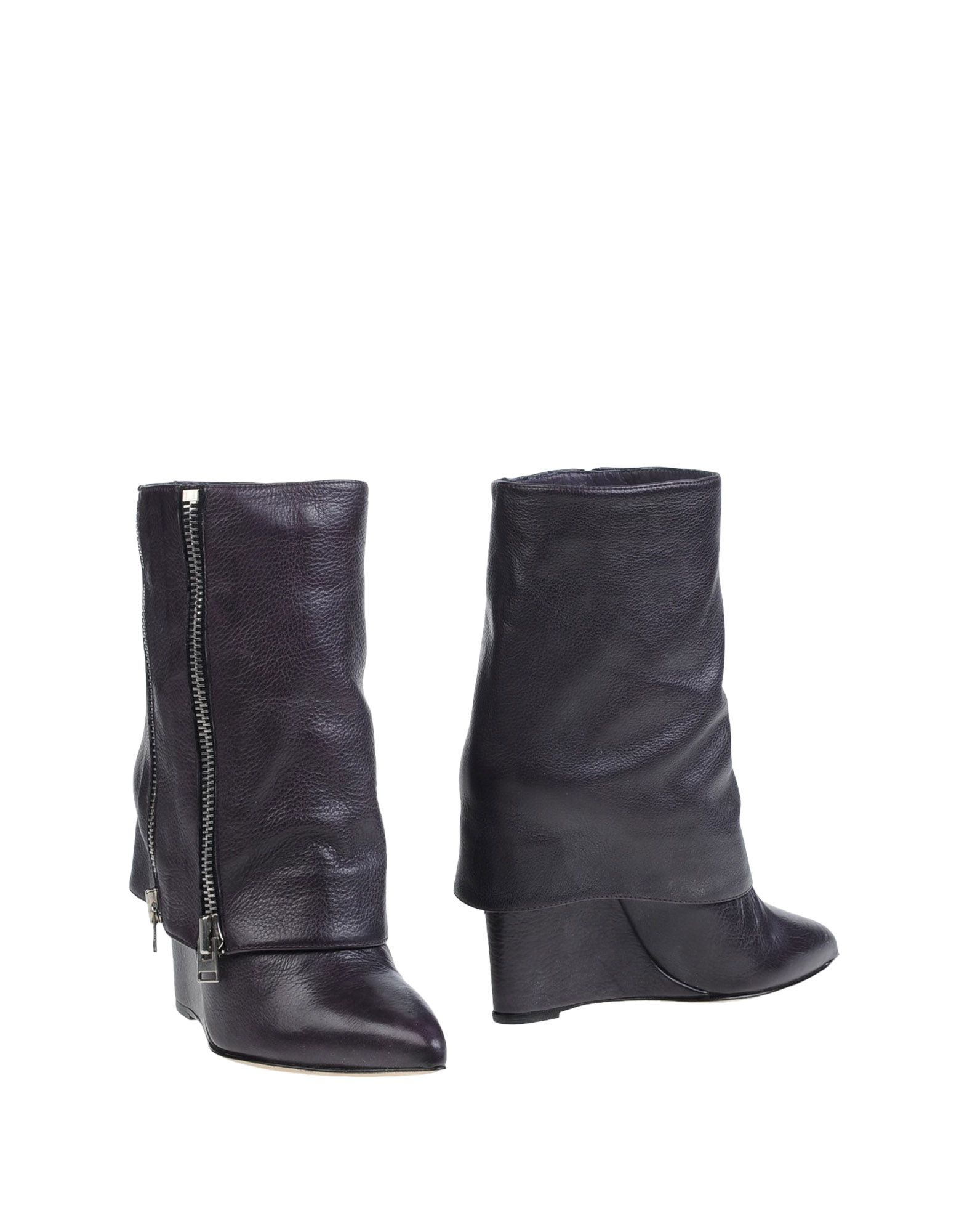 Lyst Boots Particulier In Ankle Purple Hotel xYYCrqpw
