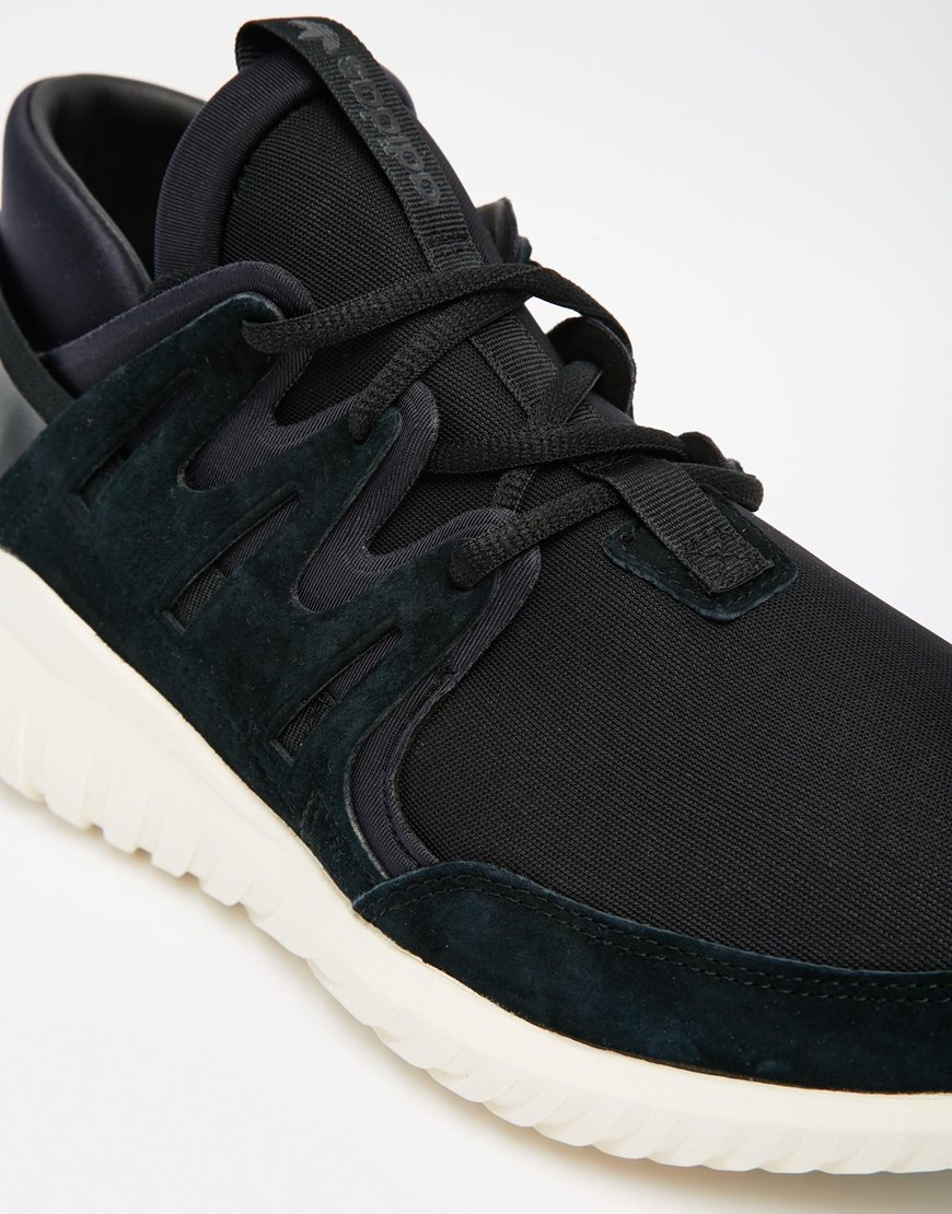 Lyst - adidas Originals Nova Pack Tubular Trainers S74822 in Black ... 07327a1b91