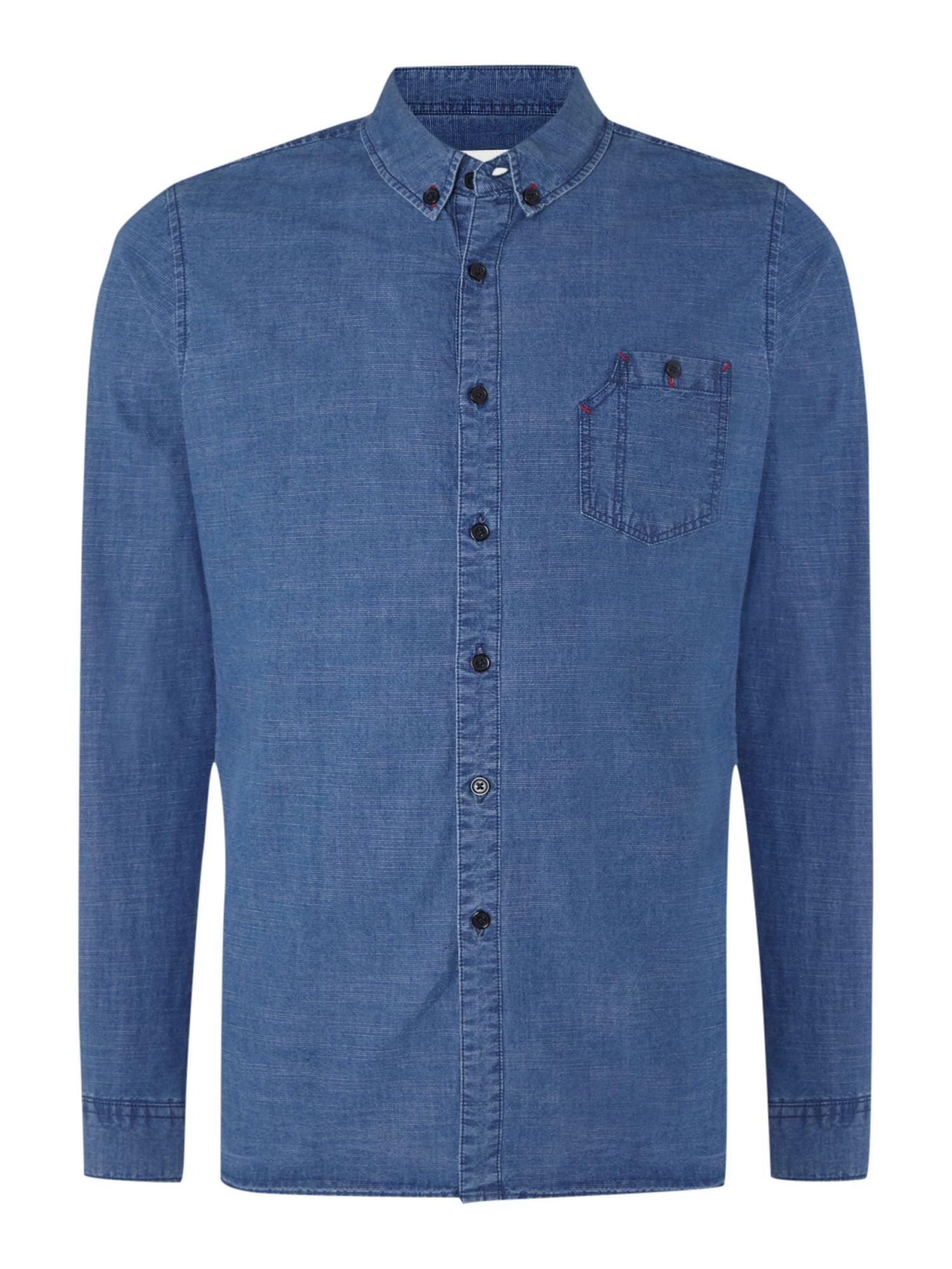 denim shirt pockets - photo #12