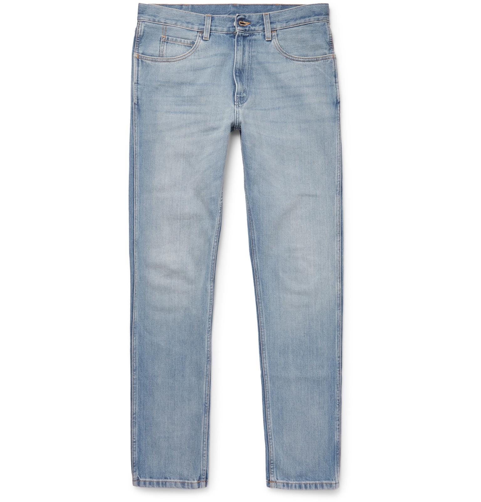 Gucci Slim-fit Denim Jeans in Blue for Men