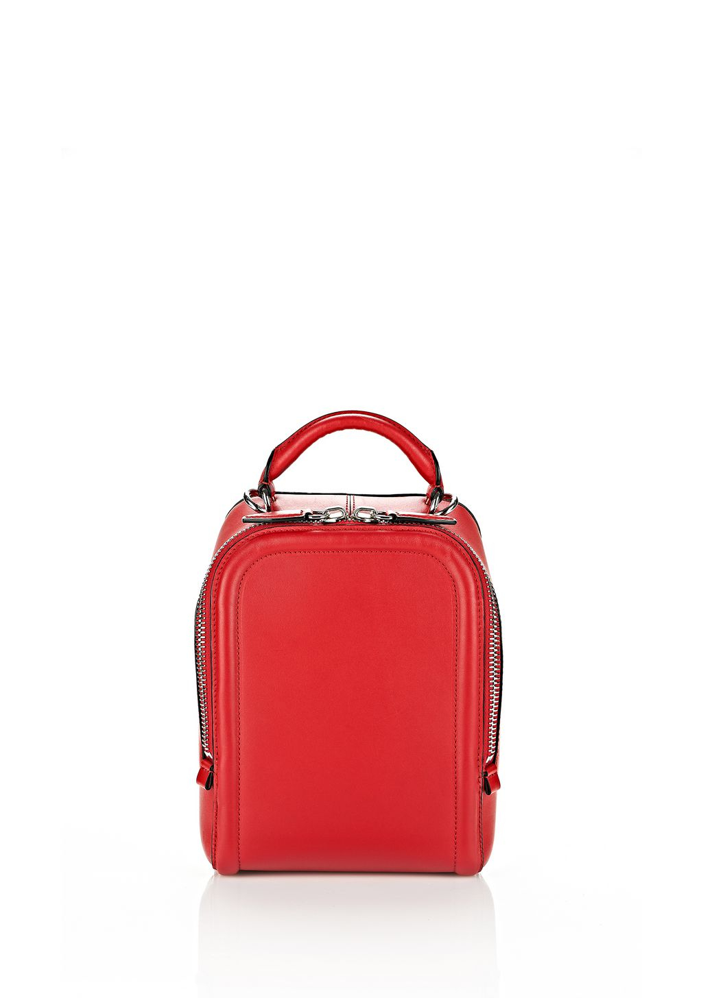 Alexander wang Small Shoe Satchel In Lacquer With Rhodium ...