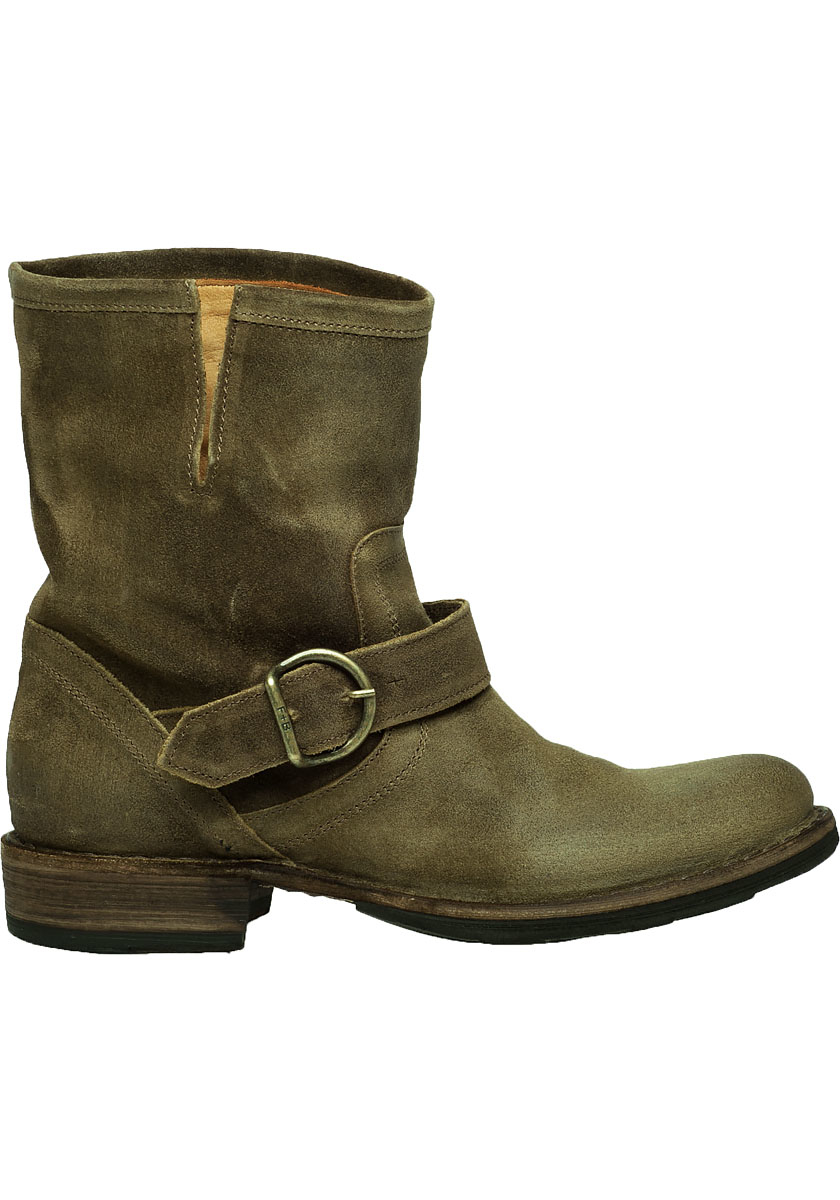 fiorentini baker eternity eli suede buckle boots in. Black Bedroom Furniture Sets. Home Design Ideas