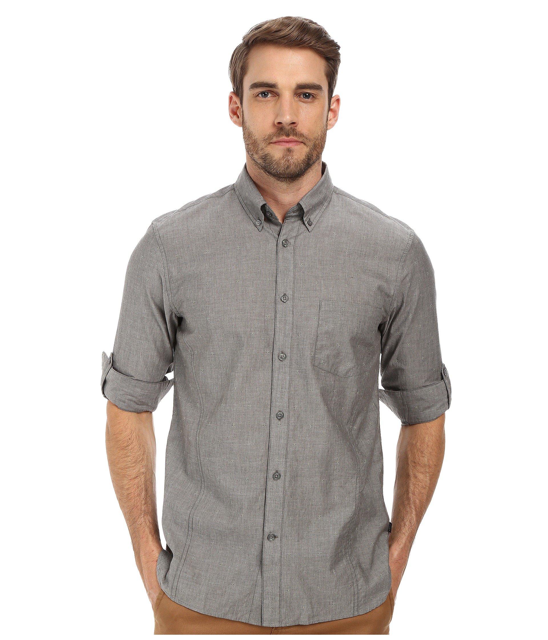 Lyst John Varvatos Roll Up Sleeve Shirt W Button Down