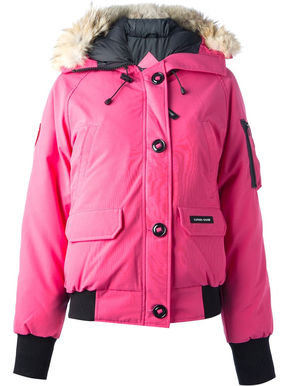 Lyst Canada Goose Chillwack Bomber In Pink