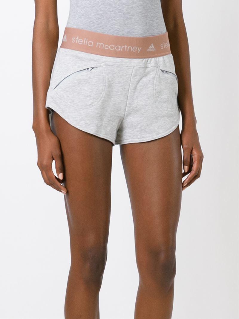 adidas shorts stella mccartney. Black Bedroom Furniture Sets. Home Design Ideas