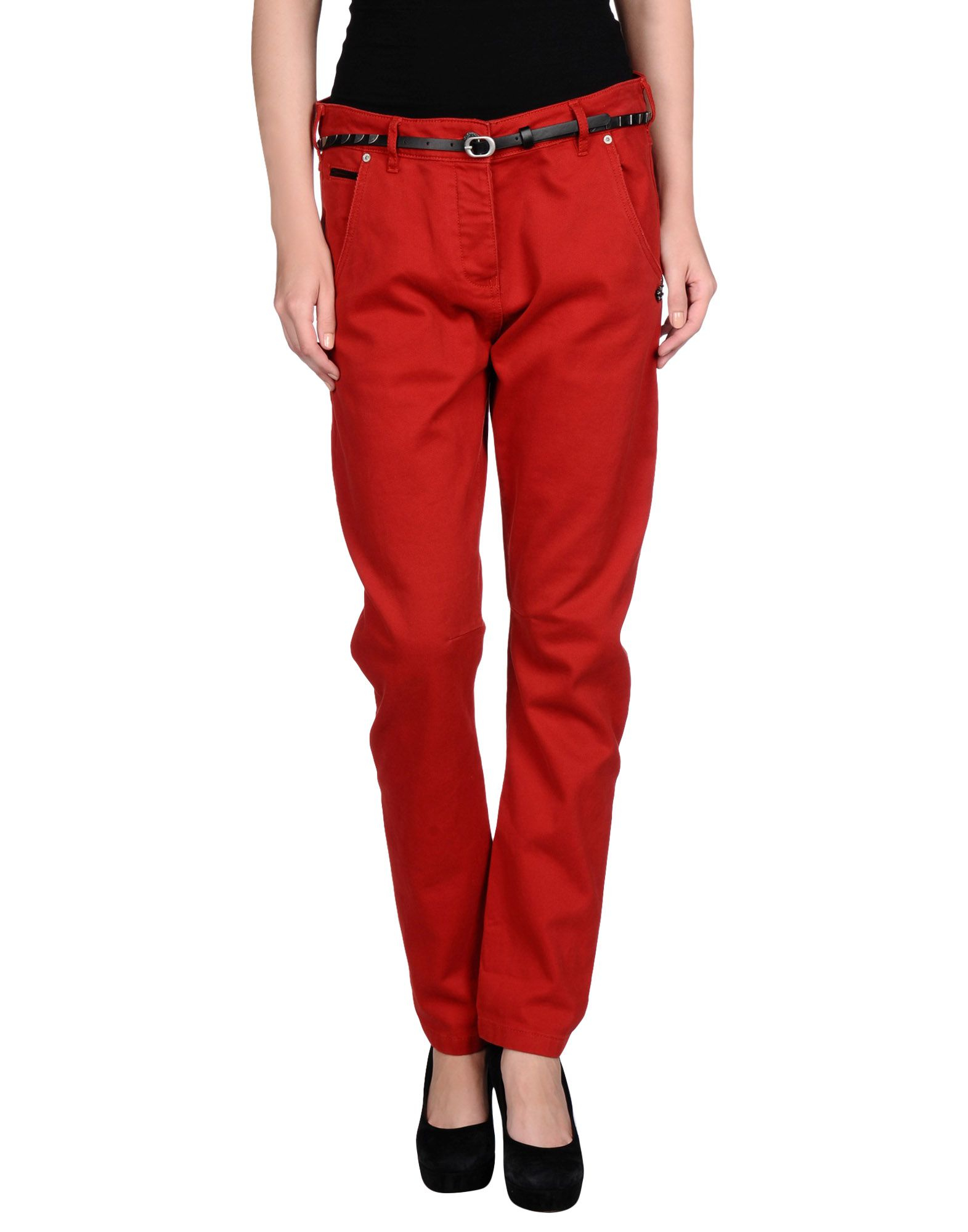 Maison Scotch Casual Trouser In Red Lyst