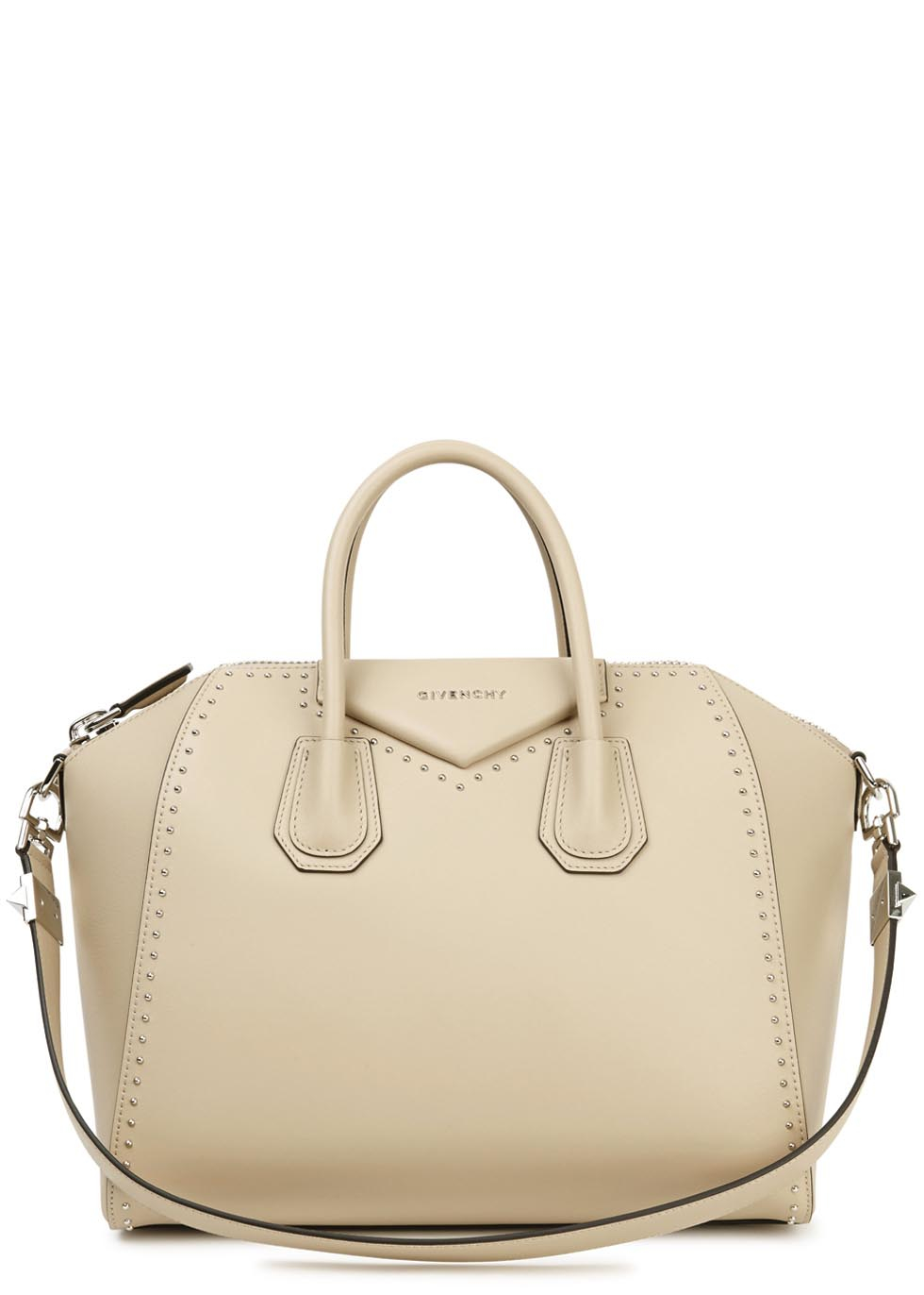Givenchy Antigona Medium Taupe Leather Tote in Natural - Lyst f42b722c4d35a