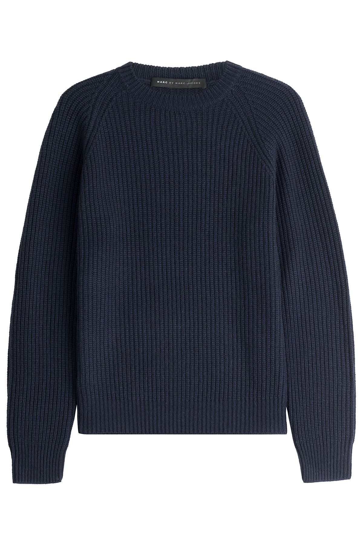 marc by marc jacobs wool cashmere pullover in blue for men. Black Bedroom Furniture Sets. Home Design Ideas
