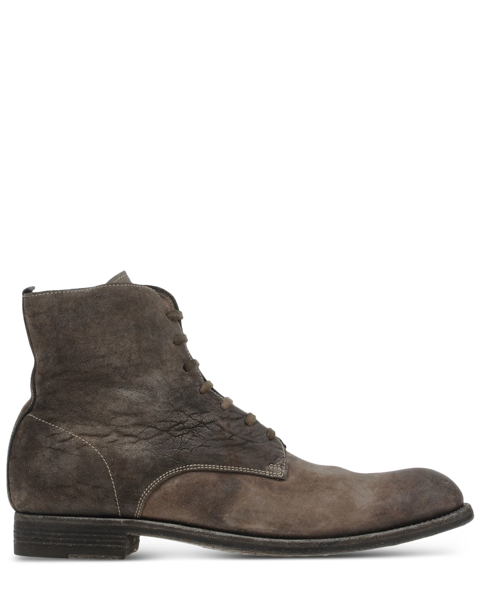 officine creative ankle boots in gray for men grey lyst. Black Bedroom Furniture Sets. Home Design Ideas