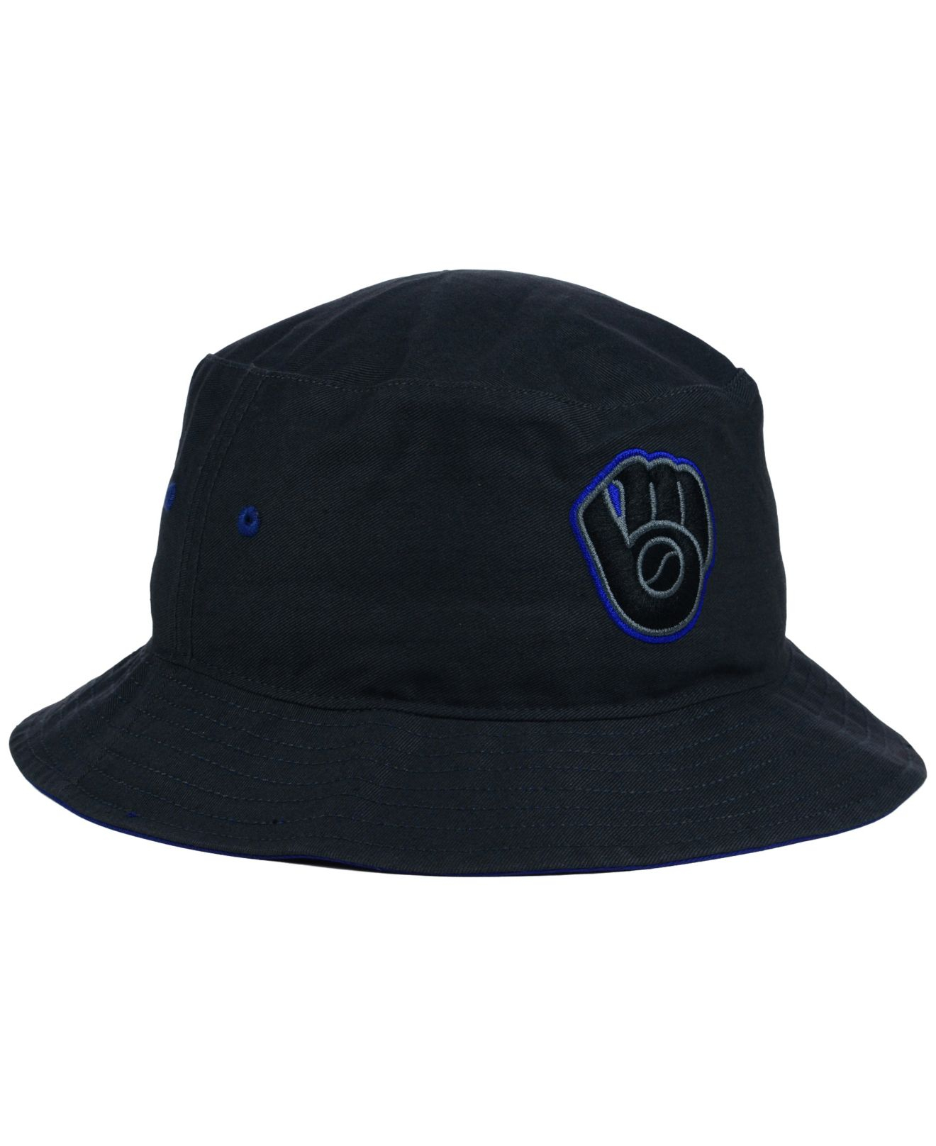 d681435bf7e Lyst - 47 Brand Milwaukee Brewers Turbo Bucket Hat in Gray
