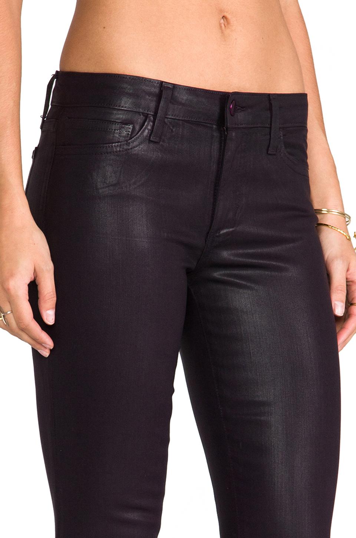 Joe's jeans Coated Skinny in Plum in Black