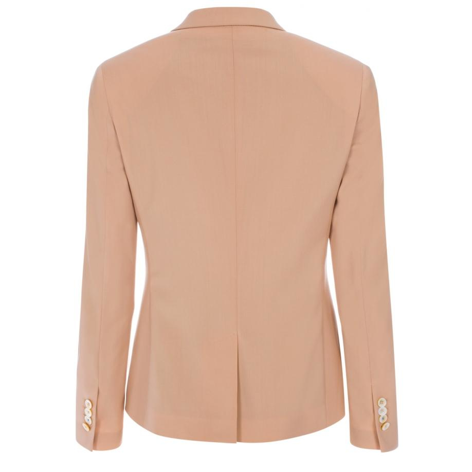 Lyst Paul Smith Women S Peach Wool Two Button Blazer In