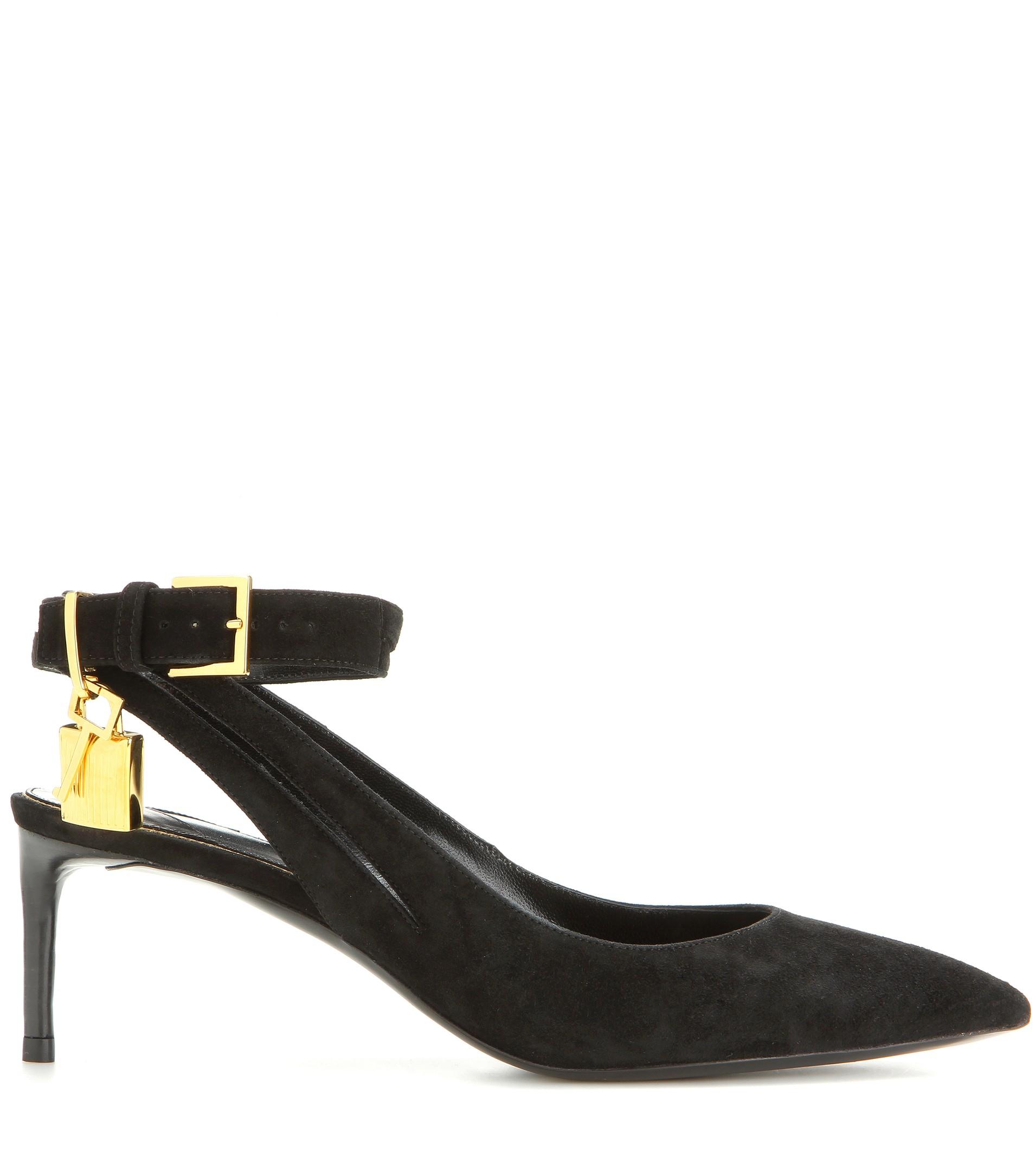heels cognac products tom lock key lv cc gold ford leopard exotic monogram ballerina espadrille hair runway shop calf sz flats