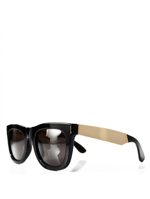 496468f33e3 Retrosuperfuture Ciccio Francis Wayfarer Sunglasses Black gold in ...