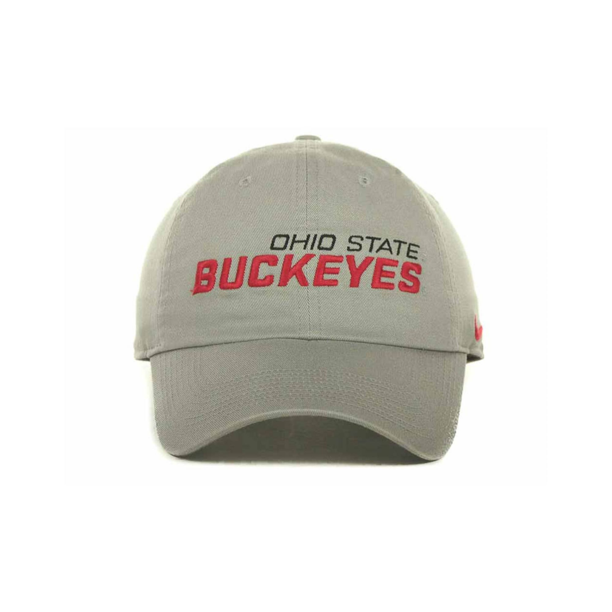 best website f12e4 22d7f ... greece lyst nike ohio state buckeyes heritage 86 campus cap in gray for  men b4ea7 374e2
