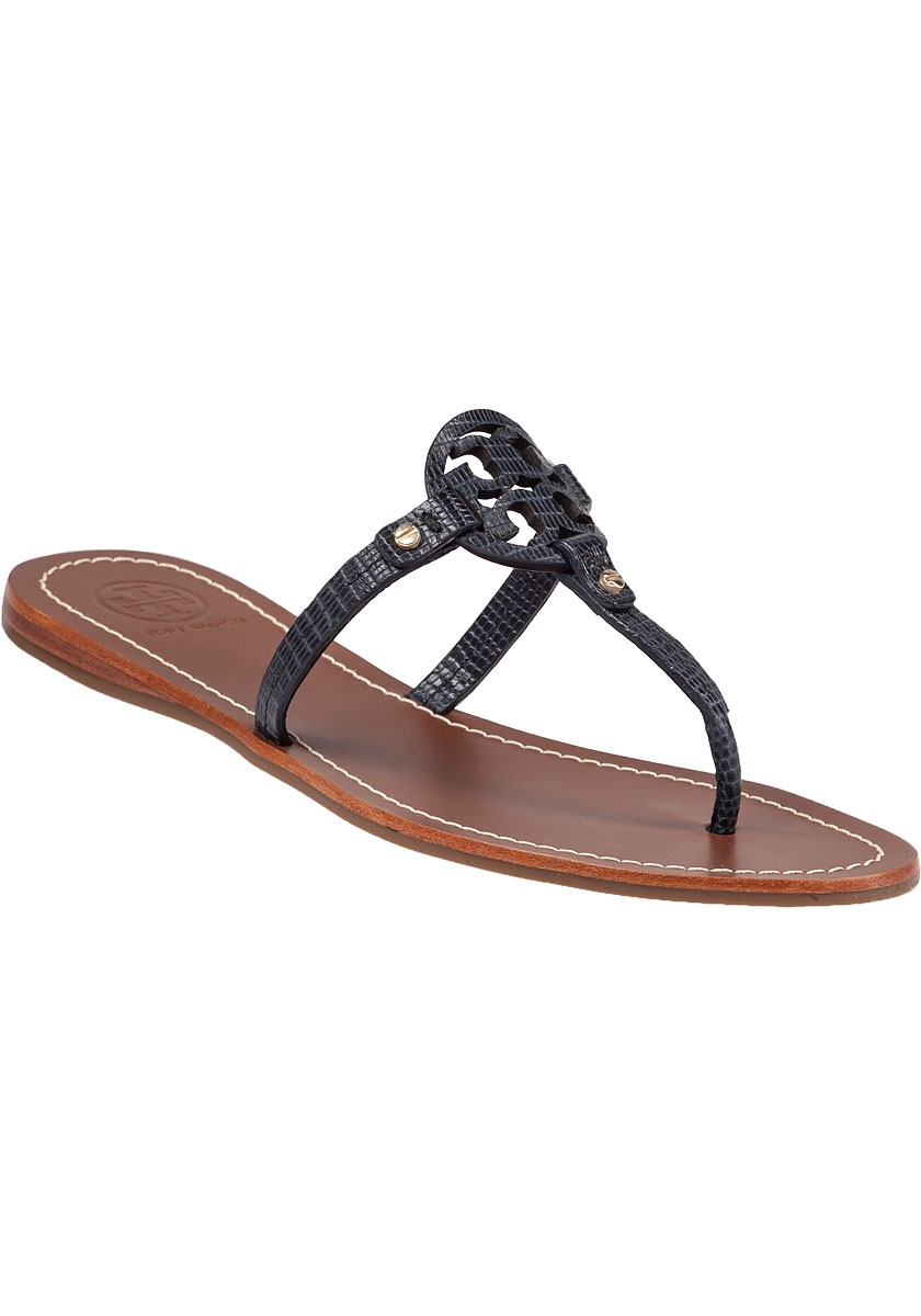 9eb85bbee Womens Navy Blue Flat Sandals - Collections Blue Images