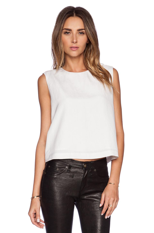 Lyst Jenni Kayne Sleeveless Shell Top In White