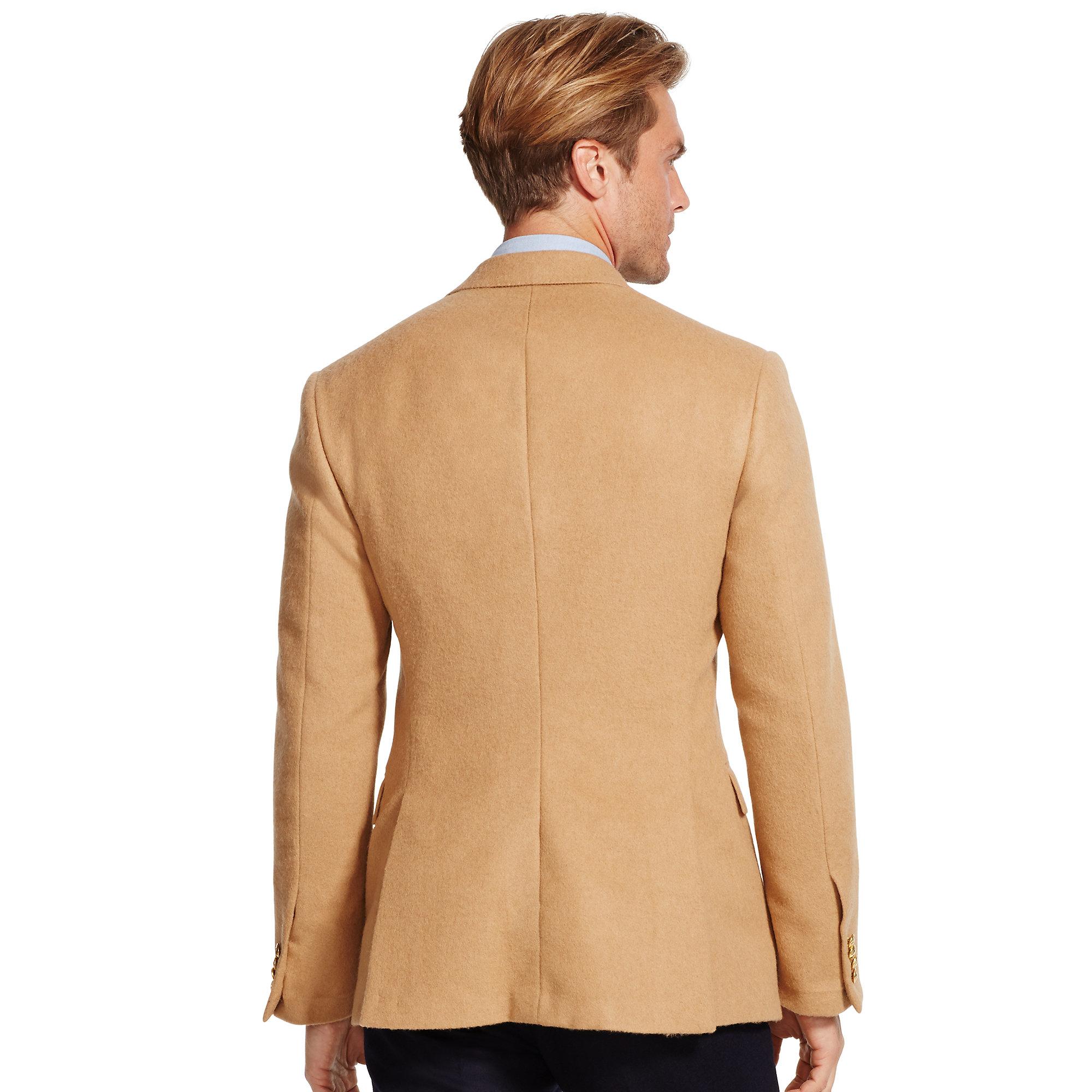 3c3503c43c50b Lyst - Polo Ralph Lauren Polo I Camel Hair Sport Coat in Natural for Men