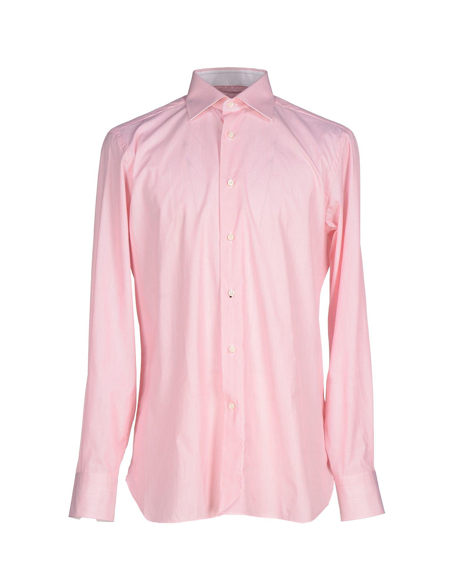 ermenegildo zegna shirt in pink for men lyst. Black Bedroom Furniture Sets. Home Design Ideas